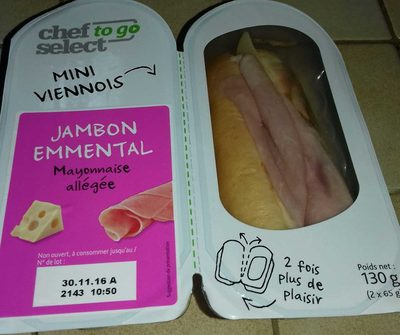 Mini Viennois Jambon Emmental - Product
