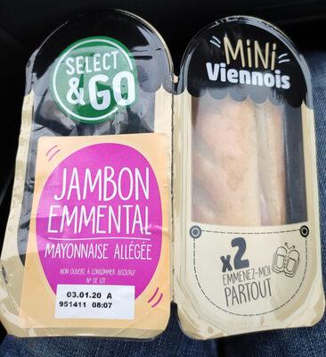 Mini Viennois Jambon Emmental - Product - fr