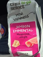 Mini Viennois Jambon Emmental - Nutrition facts - fr