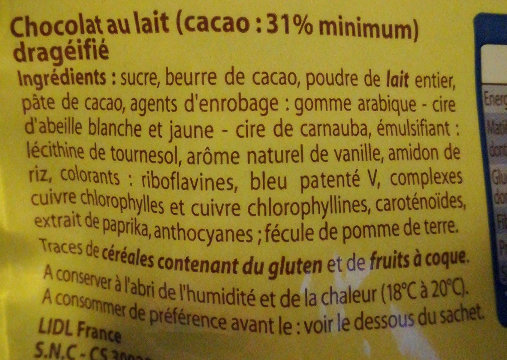 Oeufs de mouettes - Ingrédients - fr