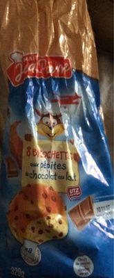 Briochette aux pepites de chocolat - Produit - fr