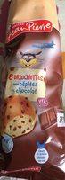 Briochettes pepites de chocolat - Produit - fr
