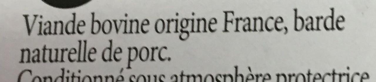 Rôti** à rôtir - Ingredients - fr