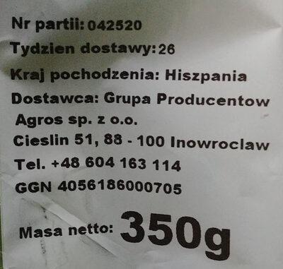 Seler naciowy - Składniki - pl