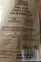 Pan semillas de Amapola - Product - es