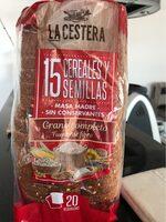 Pan de molde 15 cereales y semillas - Product - es