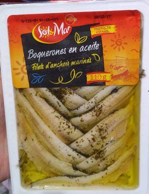 Filets d'Anchois Marinés - Product - fr