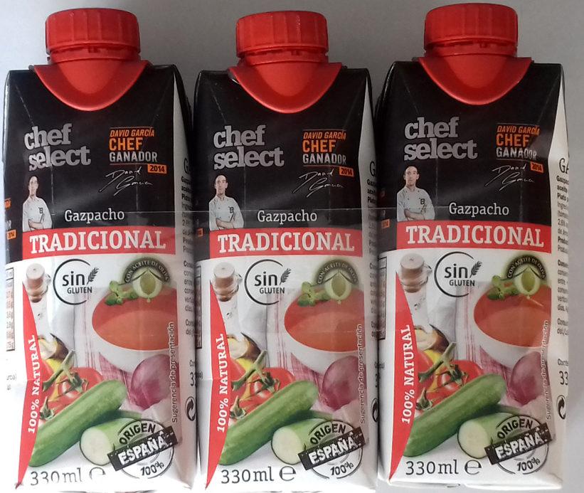 Gazpacho Tradicional - Chef Select - Producte - es
