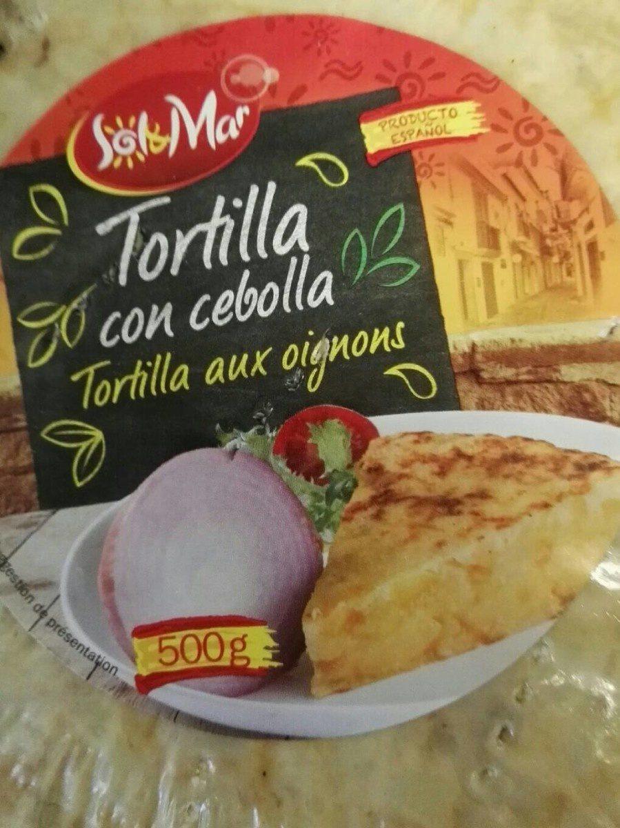 Tortilla aux Oignons - Produit