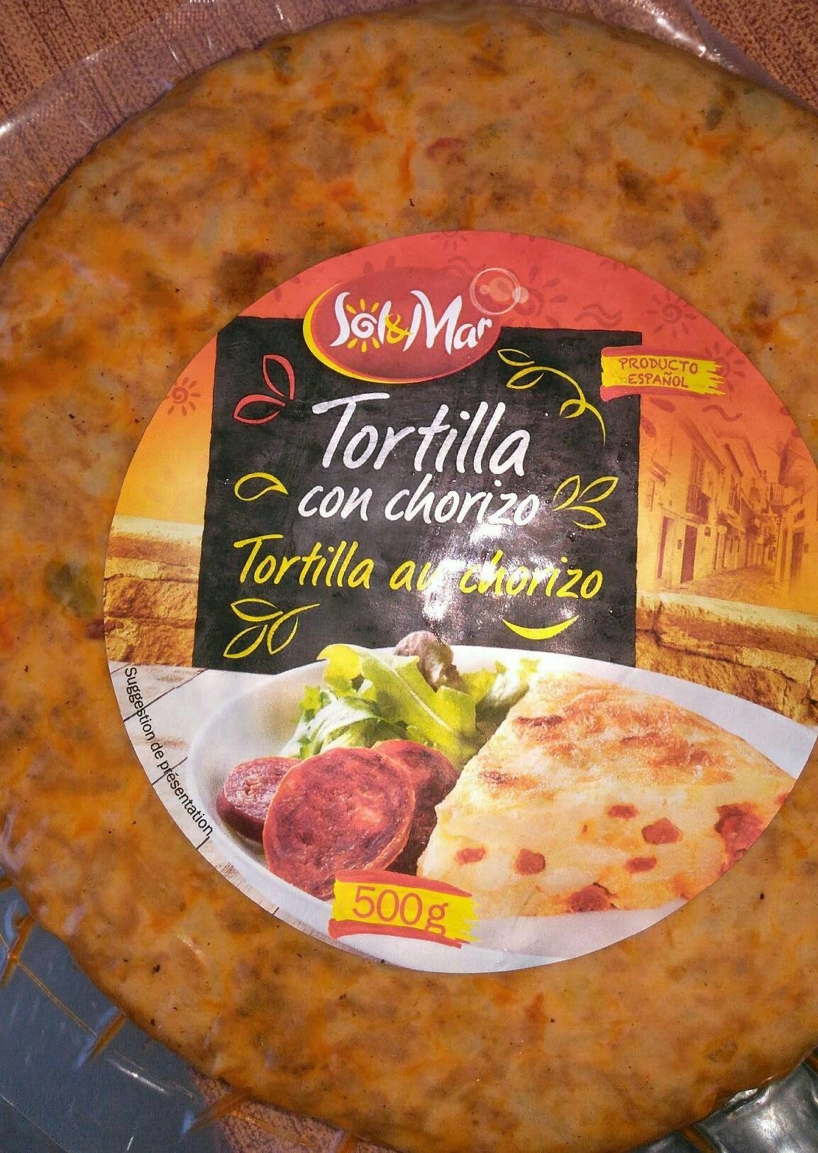 Tortilla au chorizo - Product