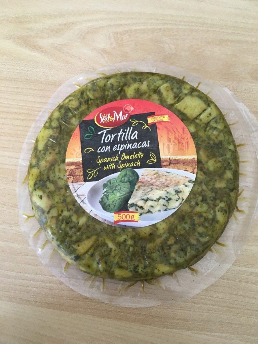 Tortilla aux Épinards - Produit