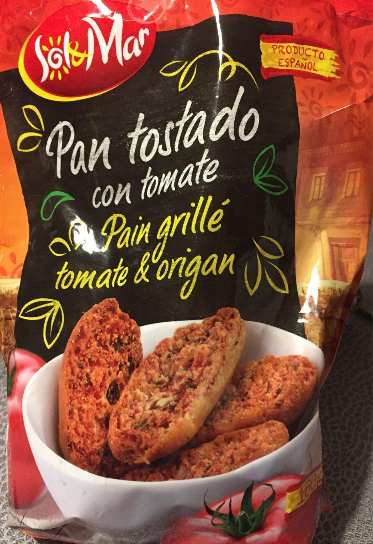 Pain grillé tomate & origan - Product - fr