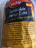 Salami espagnole - Ingredients - fr