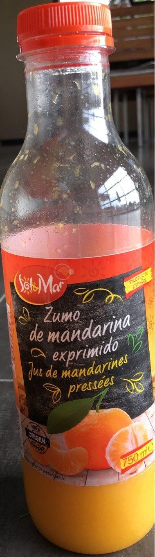 Zumo de mandarina exprimido - Product - fr