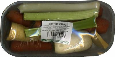 Mezcla de verduras y hortalizas para caldo - Producte - es