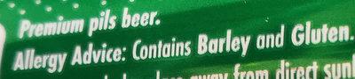 premium pils - Ingredients