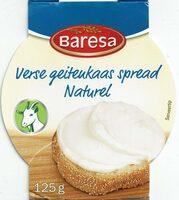 Verse Geitenkaas spread naturel - Product - nl