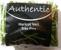 Haricots vert Très Fins 350 g - Produit - fr
