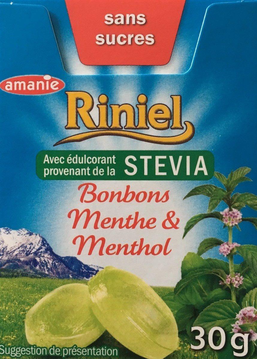 Bonbons Menthe & Menthol - Produit