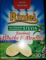 Bonbons menthe et menthol - Produit - fr