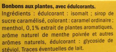 Riniel - Ingredients
