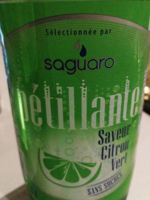 Eau Pétillante saveur Citron Vert - Product