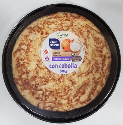Tortilla de patata con cebolla - Produto - fr