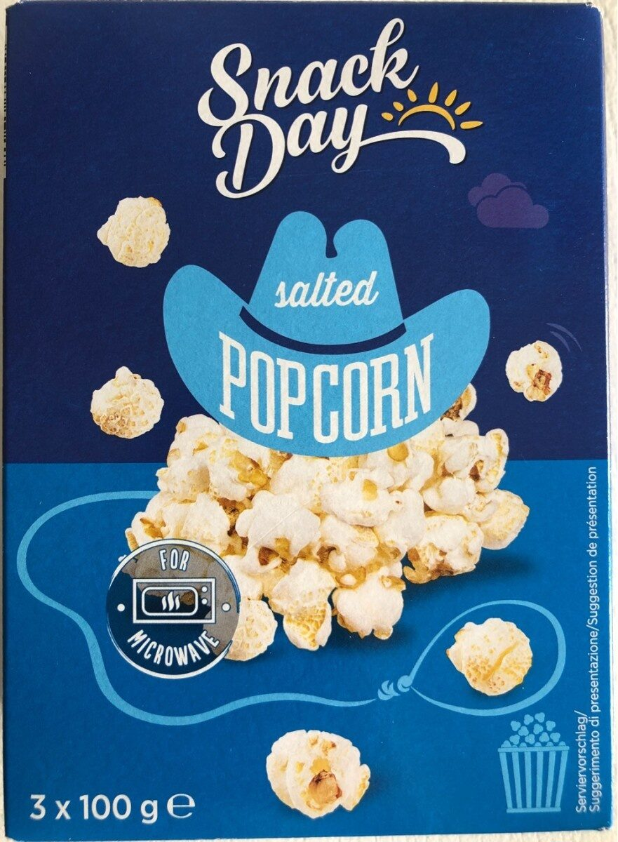 Salted popcorn - Prodotto - fr