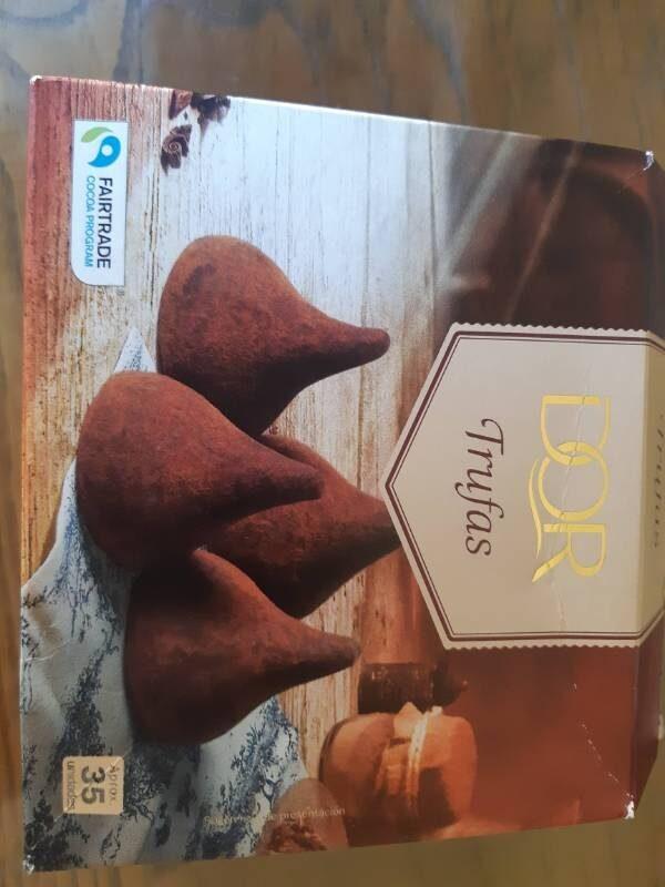 Truffe chocolat - Información nutricional