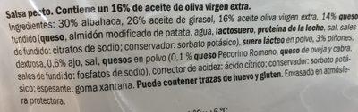 Pesto salsa - Ingredients