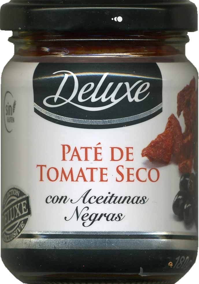 Paté de tomate seco con aceitunas negras - Product