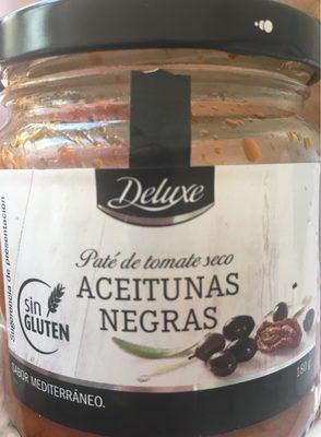 Pâté de tomates sèches aceitunas negras - Produit