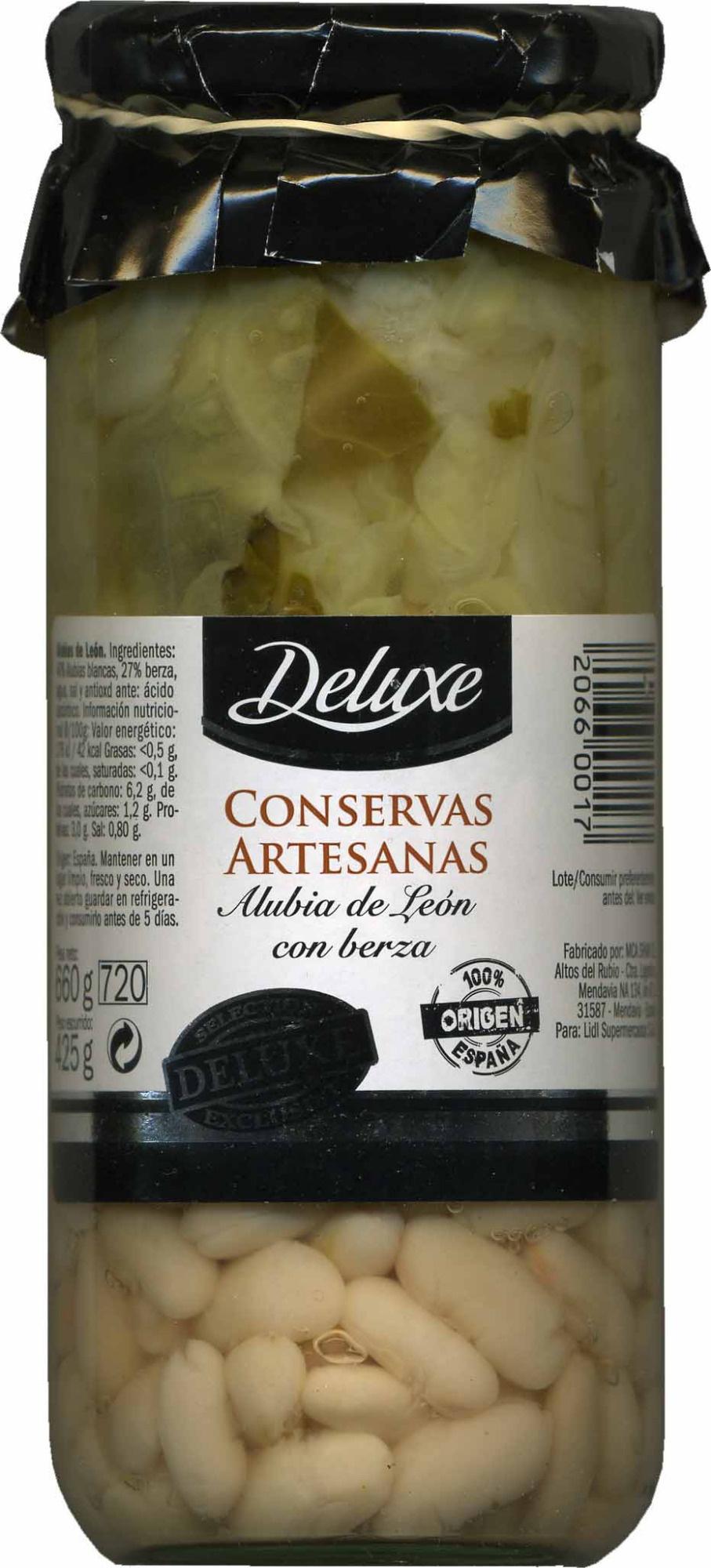 Alubia de León con berza - Producte - es