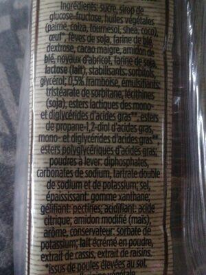 Pipettes géantes - Ingrédients - fr