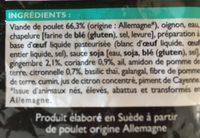 Tablettes pour lave-vaisselle - Ingredientes