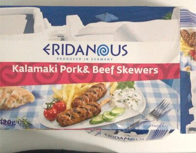 Kalamaki pork&beef skewers - Produit