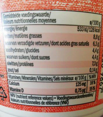 Fromage Frais, Entier (40) - Ingrediënten