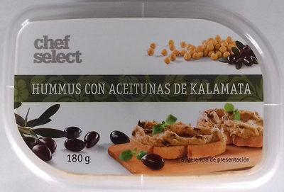Hummus con aceitunas de Kalamata - Producto