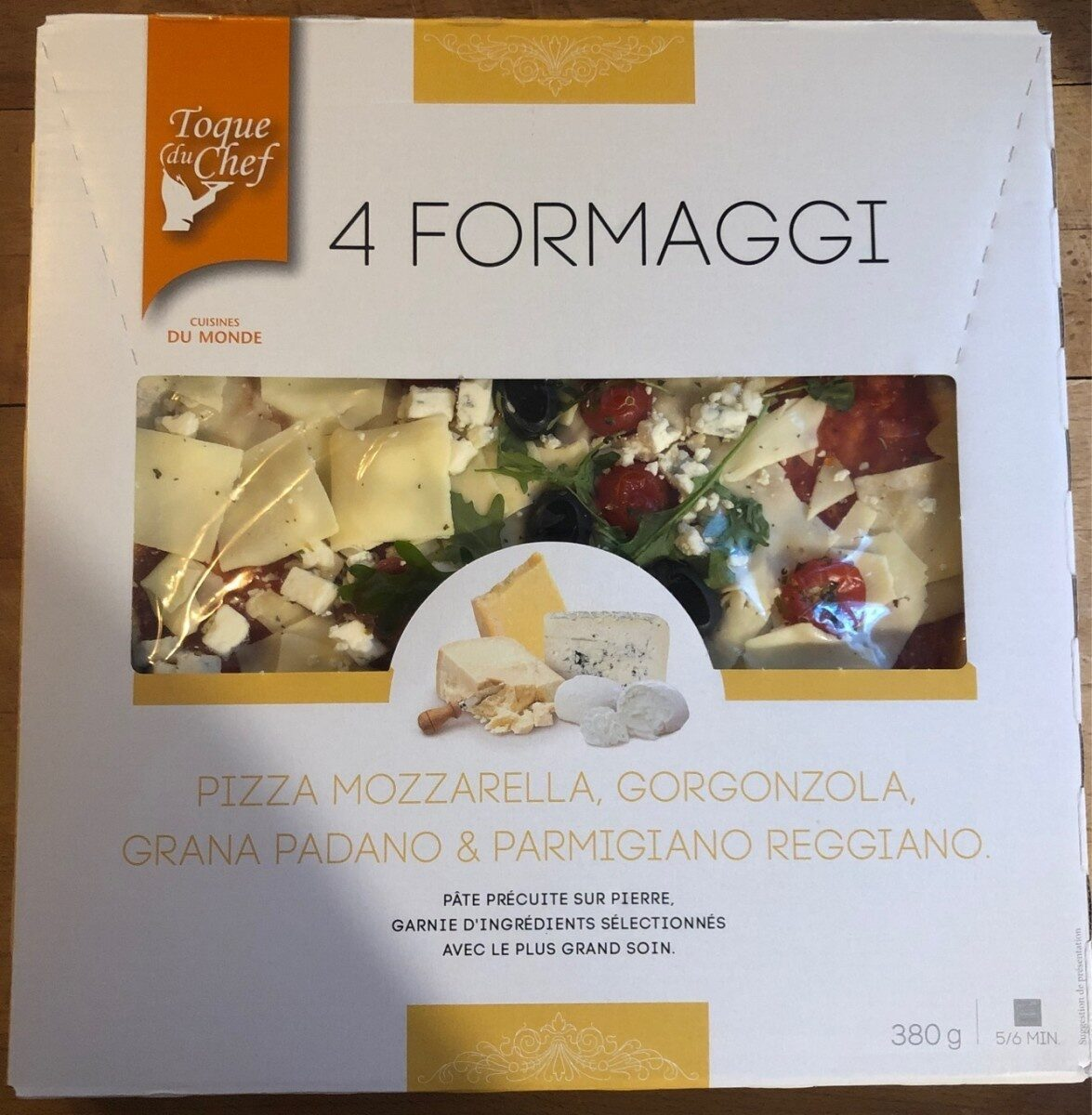 4 formaggi - Tuote - fr