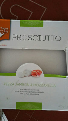 Pizza jambon fromage - 产品 - fr