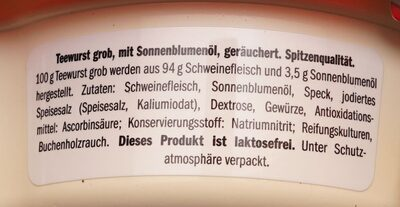 Teewurst Lidl - 3