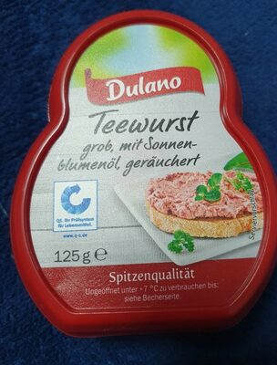 Teewurst Lidl - 4