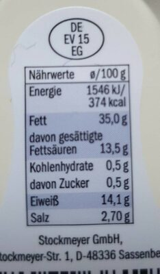 Teewurst Lidl - Nährwertangaben - de