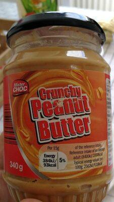 Crunchy peanut butter - Product - en