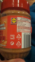 Crunchy peanut butter - Instruction de recyclage et/ou information d'emballage - en