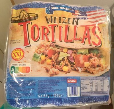 Weizen Tortillas - Prodotto - en