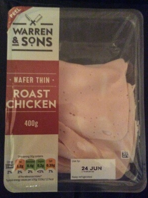 wafer thin roast chicken - Product
