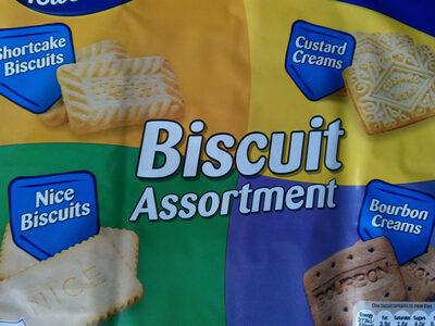 Biscuit assortment - Product - en