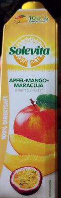 Direktsaft Apfel-Mango-Maracuja - Produkt