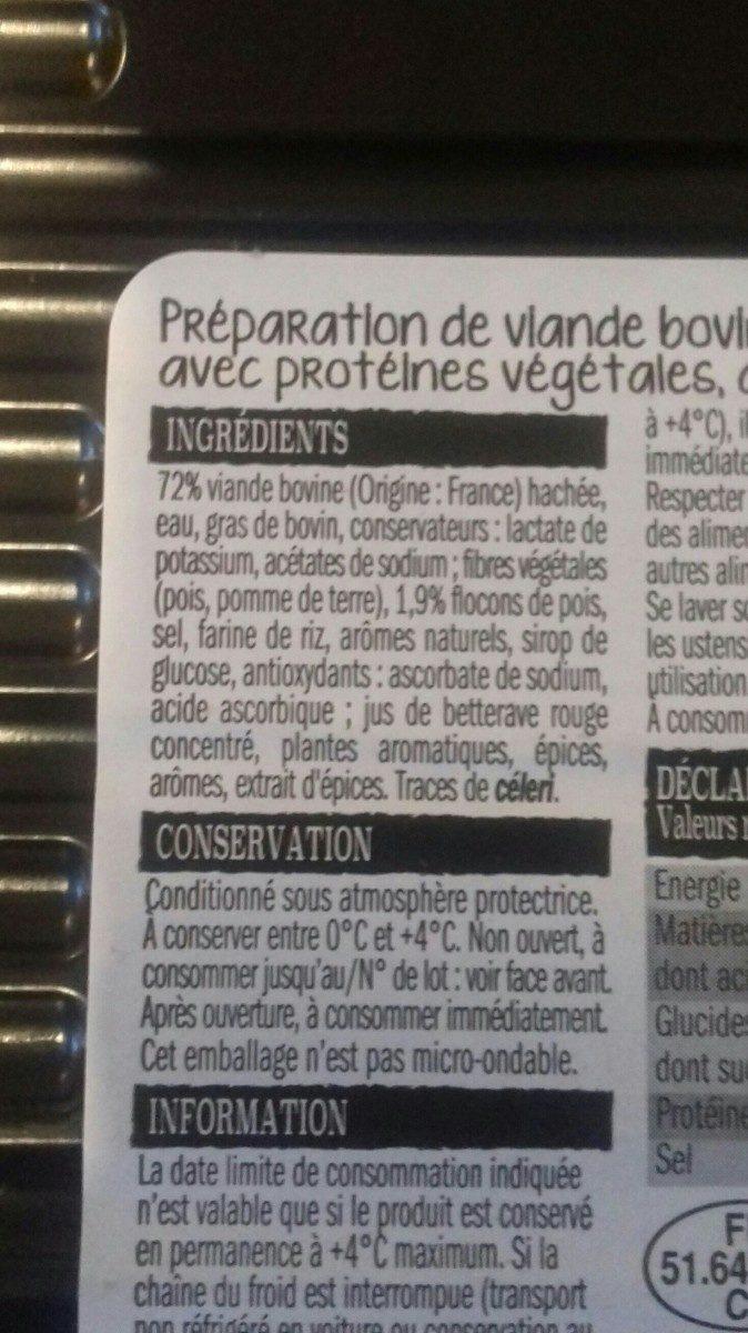 Boulettes au Bœuf - Ingredients